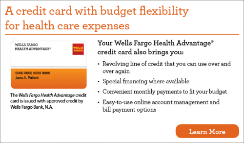 Wells Fargo Health Advantage Credit Card