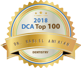 Dr. Rabiel Amirian - Dca Top 100 Dentistry 2018 Award
