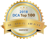 Dr. Rabiel Amirian - Dca Top 100 Dentistry 2018 Award